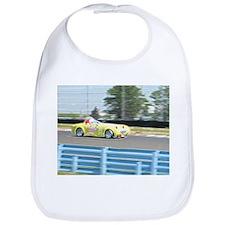 A British Racer At Speed Bib