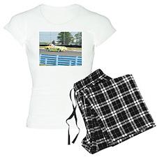 A British Racer At Speed Pajamas