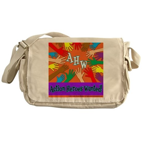 Kindness Beyond Colors Messenger Bag