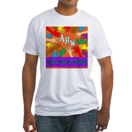 Kindness Beyond Colors Fitted T-Shirt