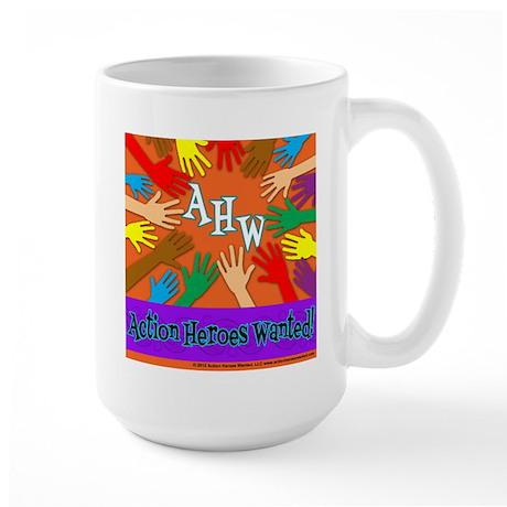 Kindness Beyond Colors Large Mug
