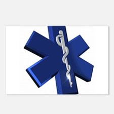 Star of Life Logo Postcards (Package of 8)