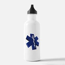 Star of Life Logo Water Bottle