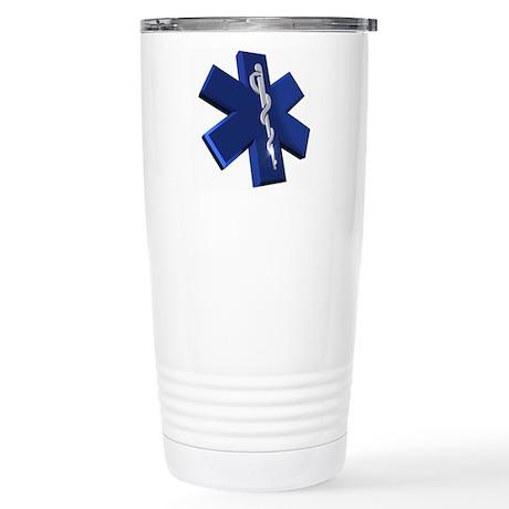 Star of Life Logo Stainless Steel Travel Mug