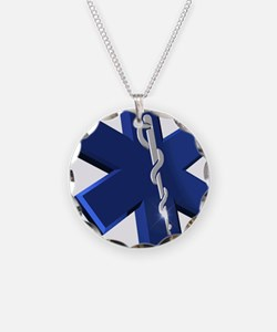 Star of Life Logo Necklace