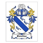Bontine Coat of Arms Small Poster
