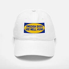 Swedish dogs are well hung Baseball Baseball Cap