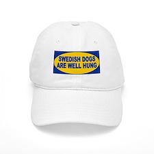 Swedish dogs are well hung Baseball Cap