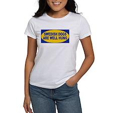Swedish dogs are well hung Tee