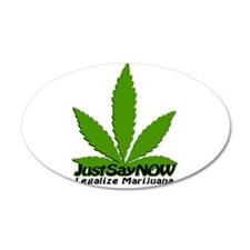 Just Say NOW Wall Decal