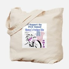 Support the Women's Freedom Ride Tote Bag