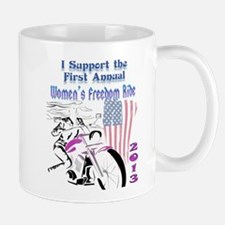 Support the Women's Freedom Ride Mug