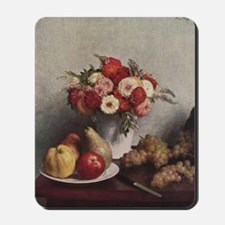 Fruit and Flowers Mousepad