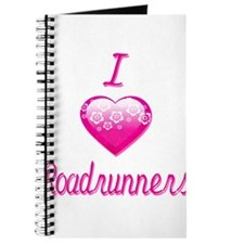 I Love/Heart Roadrunners Journal
