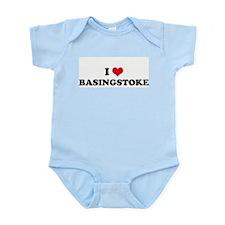 I HEART BASINGSTOKE  Infant Creeper