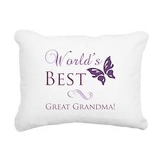 World's Best Great Grandma Rectangular Canvas Pill