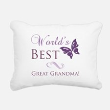 World's Best Great Grandma Rectangular Canvas Pill