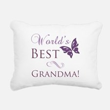 World's Best Grandma Rectangular Canvas Pillow