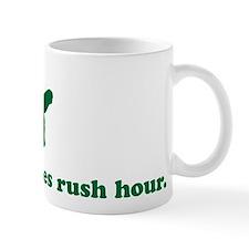 Turtle hates rush hour Mug