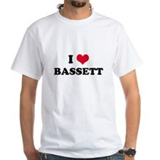 I HEART BASSETT Shirt