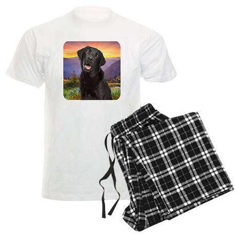 Labrador Meadow Men's Light Pajamas