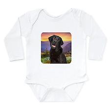 Labrador Meadow Long Sleeve Infant Bodysuit