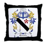 Bennie Coat of Arms Throw Pillow