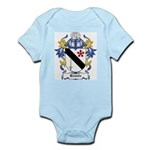 Bennie Coat of Arms Infant Creeper