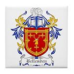 Bellenden Coat of Arms Tile Coaster
