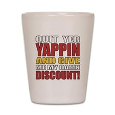 Senior Discount Humor Shot Glass