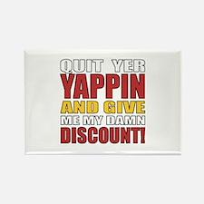 Senior Discount Humor Rectangle Magnet