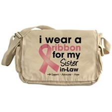 Sister-in-Law Breast Cancer Messenger Bag