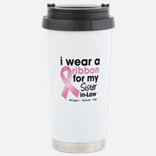 Sister-in-Law Breast Cancer Travel Mug