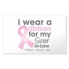Sister-in-Law Breast Cancer Decal