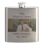This Chair is Taken Until 1/20/17 Flask
