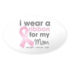 Pink Mom Breast Cancer Decal