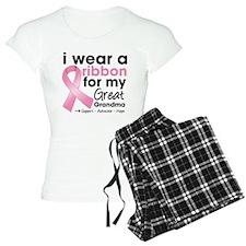 Great-Grandma Breast Cancer pajamas