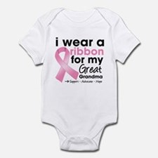 Great-Grandma Breast Cancer Infant Bodysuit