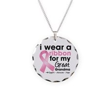 Great-Grandma Breast Cancer Necklace