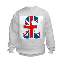 Union Jack Pound Sweatshirt