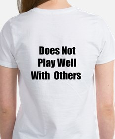 There is no TEAM in I Women's T-Shirt