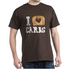 I Love Carbs! (Vintage Wash) T-Shirt