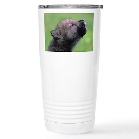 Wolf Cub Stainless Steel Travel Mug
