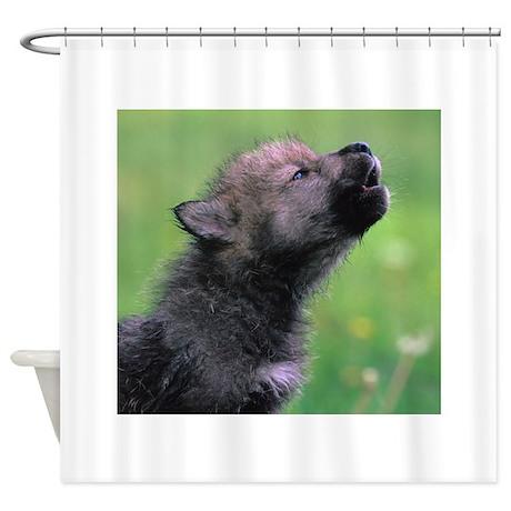 Wolf Cub Shower Curtain