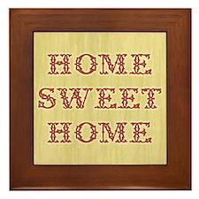 Home Sweet Home 2 Framed Tile