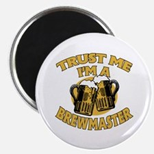 """Trust Me I'm a Brewmaster 2.25"""" Magnet (100 pack)"""