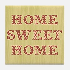 Home Sweet Home 2 Tile Coaster