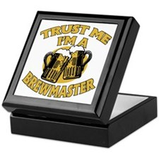 Trust Me I'm a Brewmaster Keepsake Box