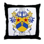 Arkley Coat of Arms Throw Pillow