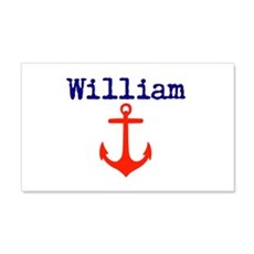 William Anchor Wall Decal